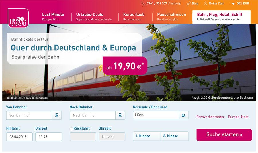 Günstige Preise über Ltur.de