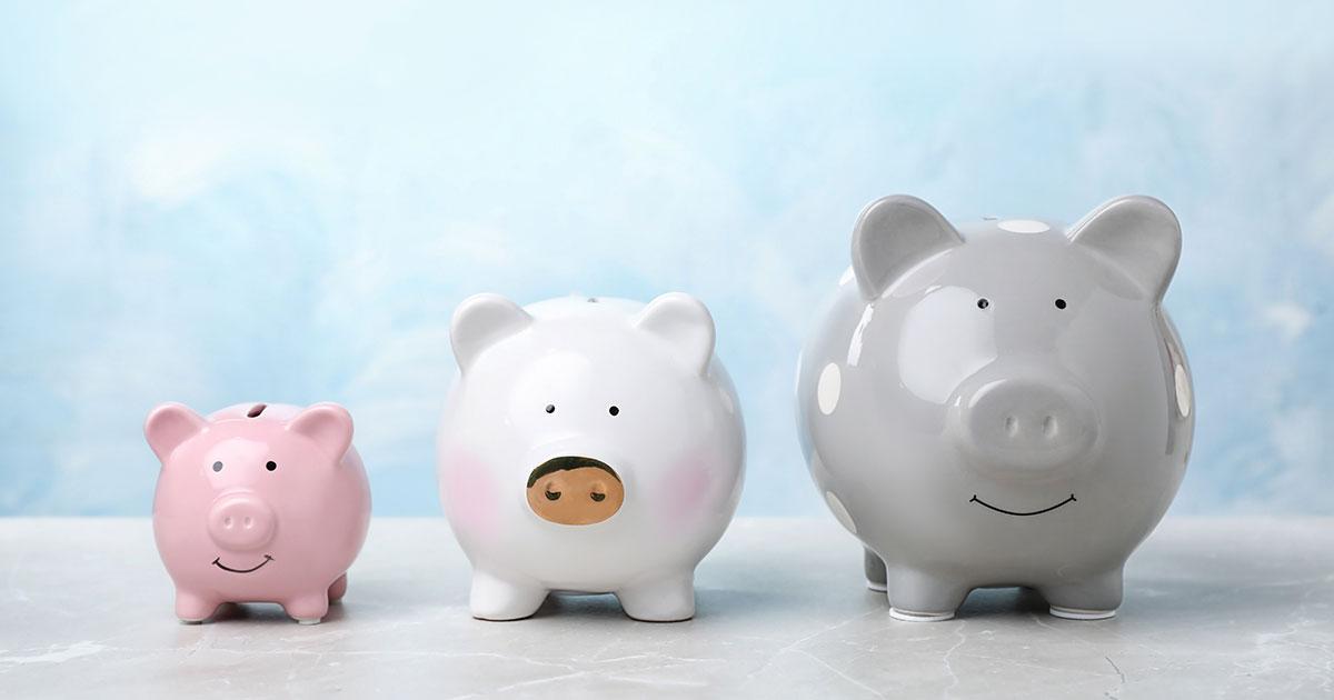 Geld sparen mit dem 3 Konten Modell