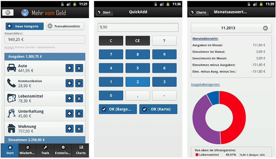 Haushaltsbuch App: Mehr vom Geld