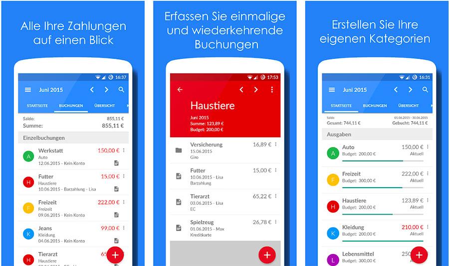 Haushaltsbuch App: Unser Haushaltsbuch